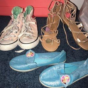 Girls size 1 shoe bundle